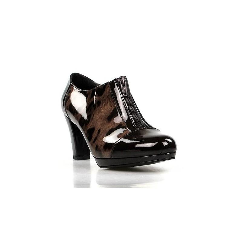 Zapatos abotinados charol - Restos de zapatos ...