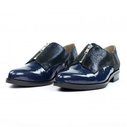 Zapatos masculinos mujer azules.16185