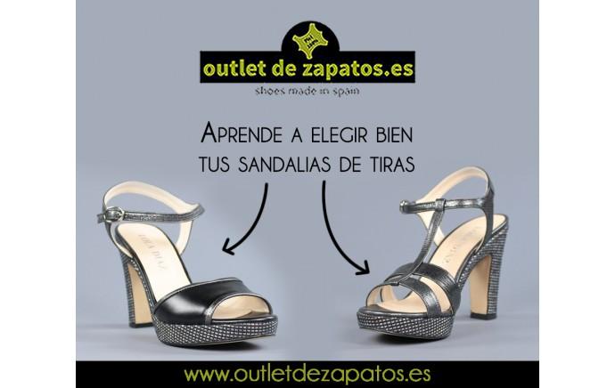Aprende a elegir bien tus sandalias de tiras