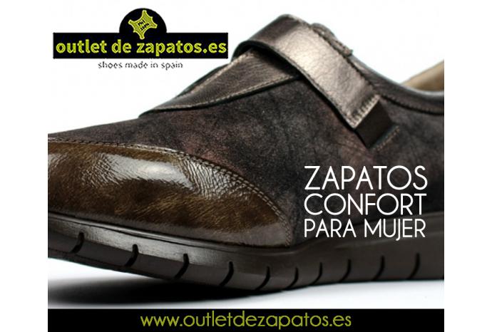 Zapatos comfort para mujer outlet de - Restos de zapatos ...