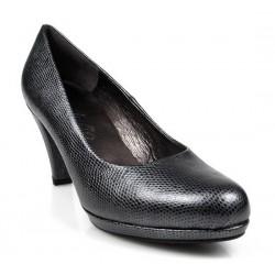 zapatos gris acero. 7586