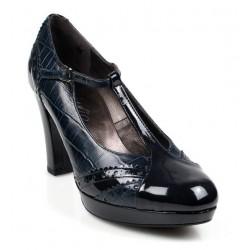 zapatos azules elegantes .9057