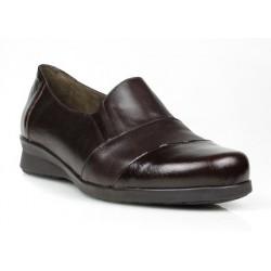 zapatos marrones de cuña .302