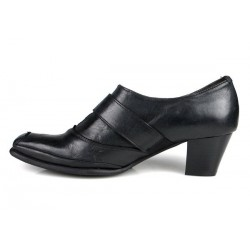 zapatos cómodos negros . x005