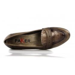 zapatos planos taupe .15023