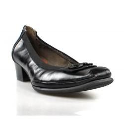 zapatos negros de piel. x287