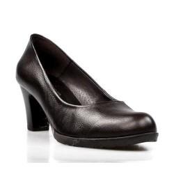 zapato de salón marrón . 30075