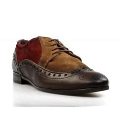 zapatos multi color tipo ingles. 15019