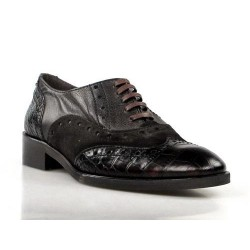 zapatos blucher marrones .30025