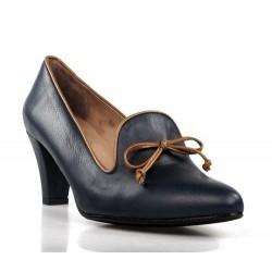 zapatos azules de tacón .175