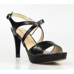 sandalias de fiesta negras.301
