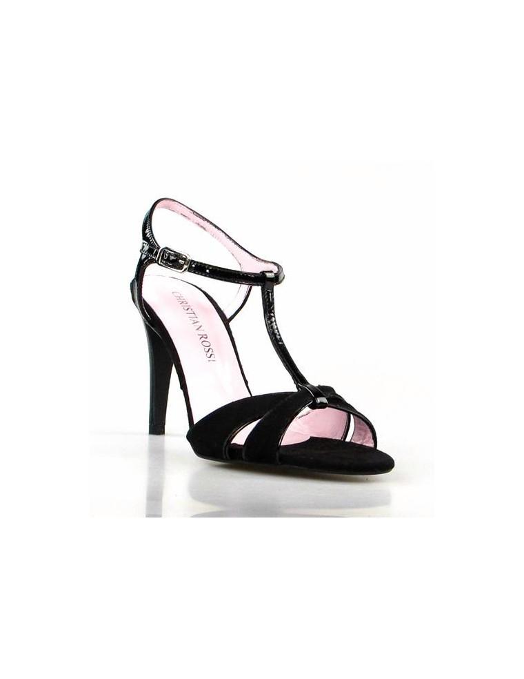 aa2e5b259bcea2 sandalias mujer negras de tacon fino elegantes outlet de zapatos