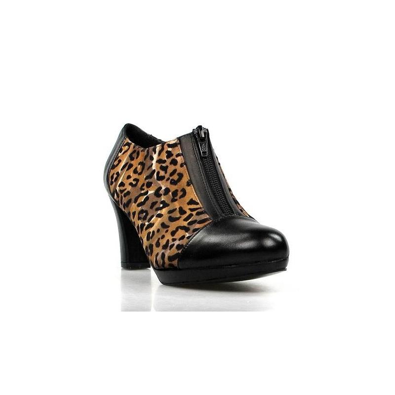 zapatos abotinados leopardo.1407