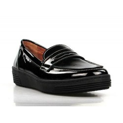 zapatos de charol negros .dakota