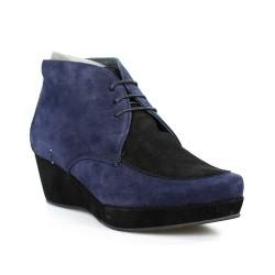 botines azules y negros de ante.pv8