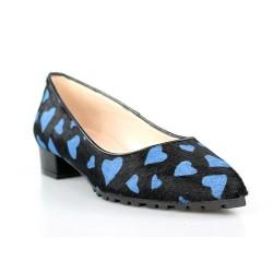 zapatos puntera corazones azules .gr