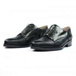 Zapatos masculinos para mujer negros .16185