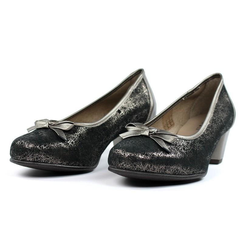 Bailarinas de tacón plata vieja.16553