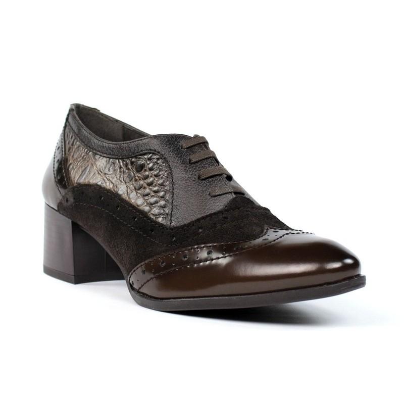 Zapatos de mujer blucher - Restos de zapatos ...