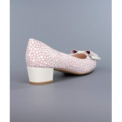 Manetina rosa con lazo.9083