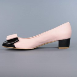 Manoletinas rosa nude .9083
