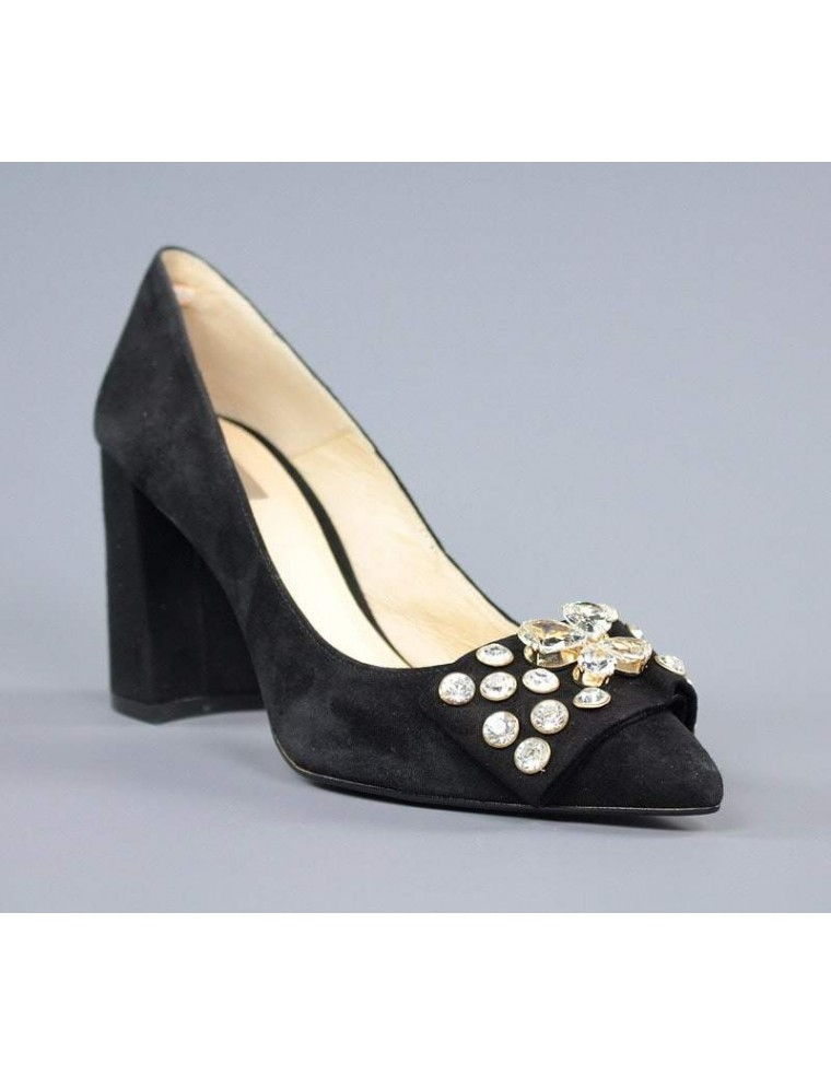 d3d2a9c7c7 zapatos de mujer online salones negros joya