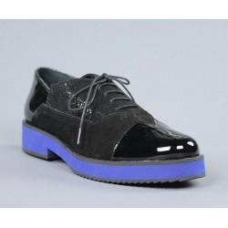 Zapatos cordones piso azul.sv4