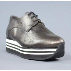 Zapatos flatform cordones.el15