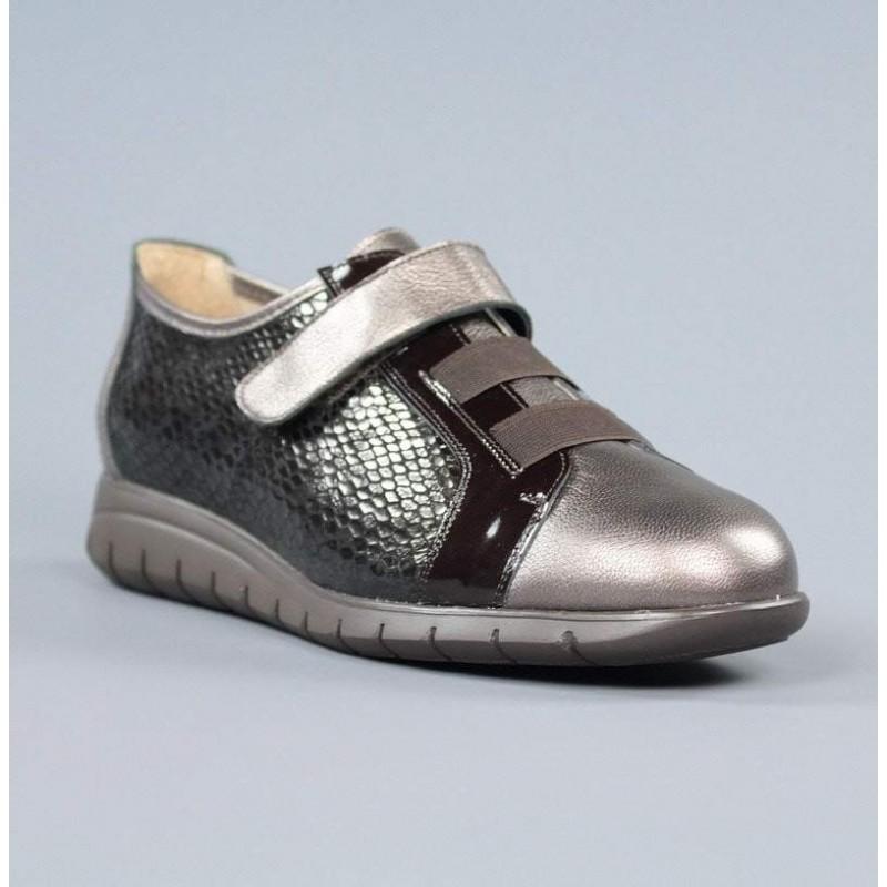 Zapatos confort piso ligero.16672