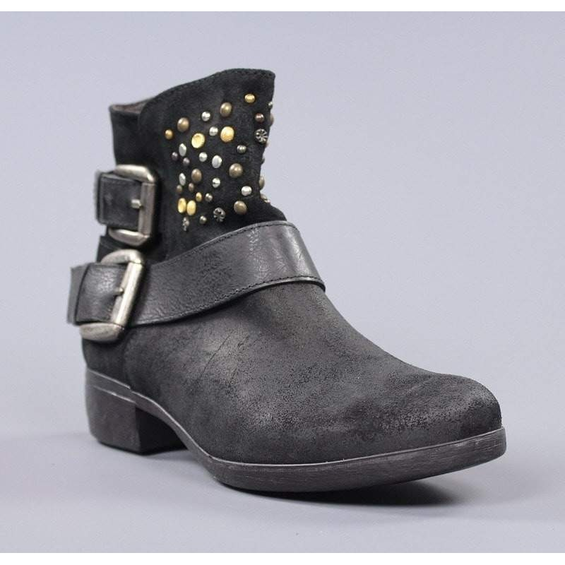 acc9ab05aa7 comprar botines online modernos mujer con remaches