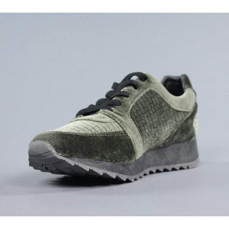 Zapatillas refresh  mujer verdes .b4