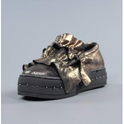 Zapatos bronce xti.zx3