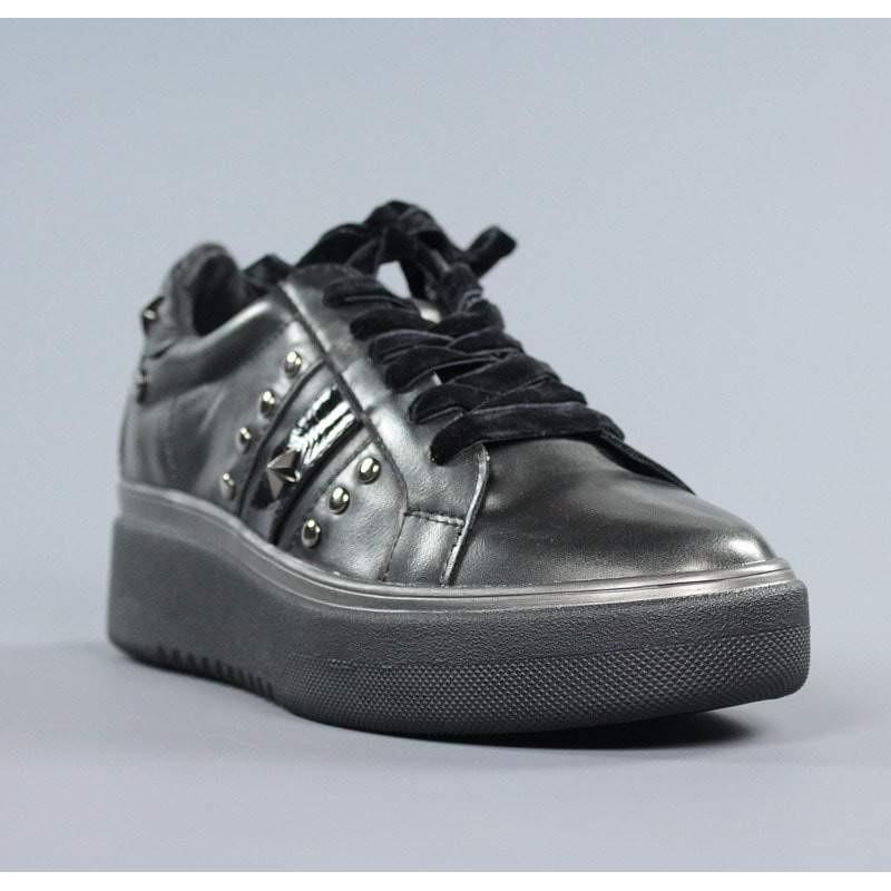 Zapatos xti gris metal.zxt7