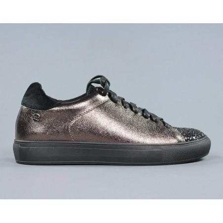 Xti zapatillas bronce.zxt13