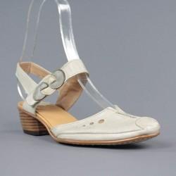 zapatos beige destalonados 968