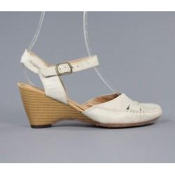 zapato de mujer con cuña 923