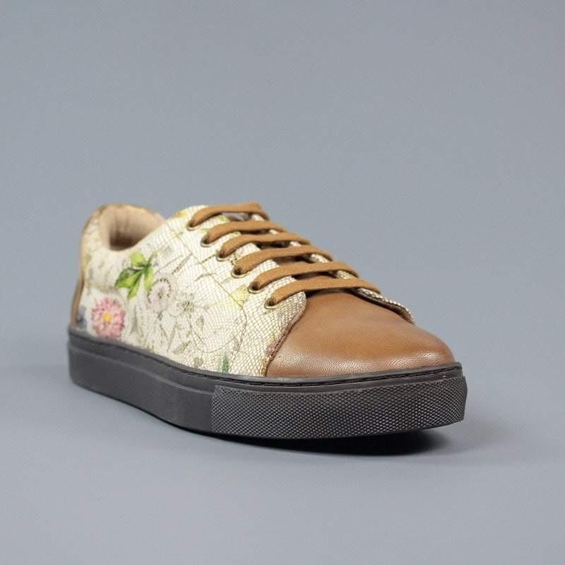 Carmela zapatillas camel.zc17