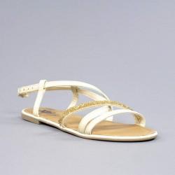 Sandalia xti tiras beige.psxt18