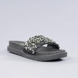 Sandalia pala negra xti. psxt56