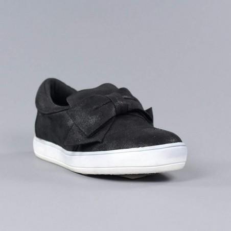 Xti zapatilla negra lazo.xv42