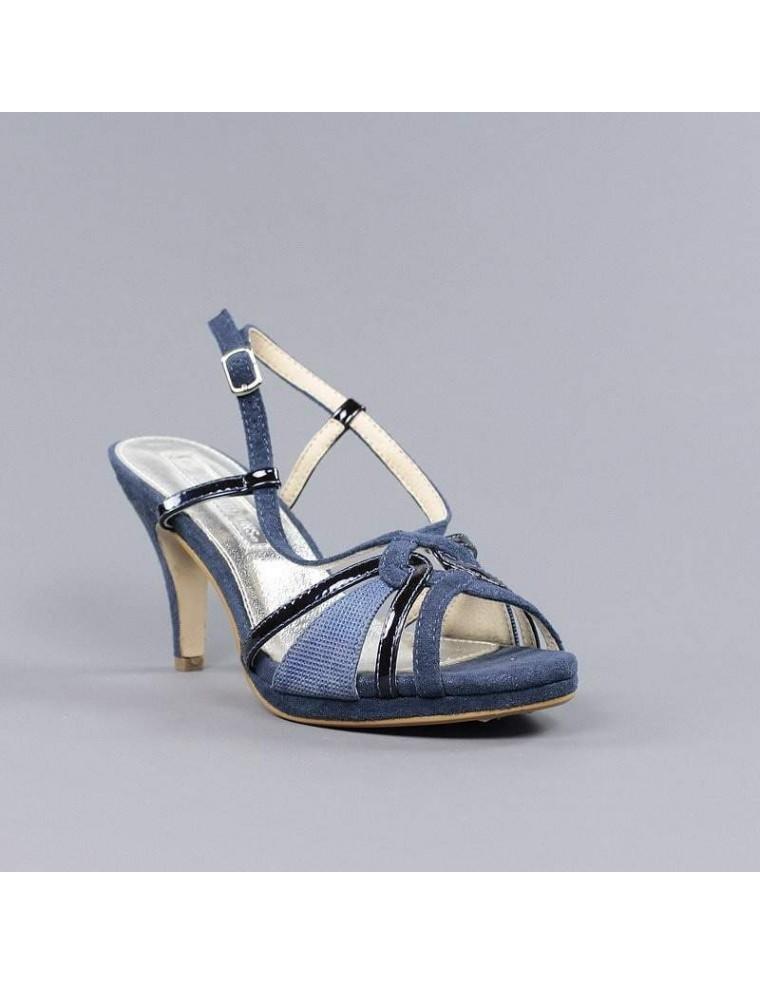 Sandalia Sandalias XtiComporar Baratas Azul Mujer Online Tacon KclJ1F