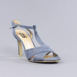 sandalia tacón azul refresh.37sx12