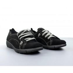 Zapatos cordones elásticos.096