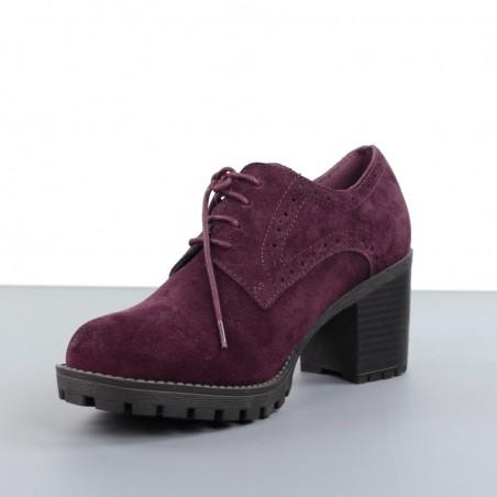 Zapatos granates carmela.20ca7.