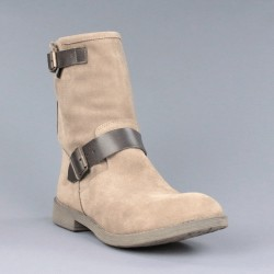Botines moteros taupe.ps137