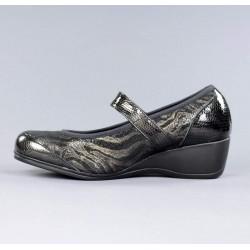 Zapato ancho especial elástico.6906
