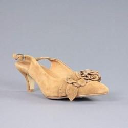Zapato camel salón carmela.20vca17.