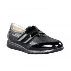 Zapatos cómodos mujer baratos plantilla dos velcros