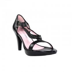 sandalias de mujer negras de vestir.312