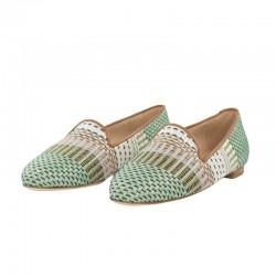 Zapatos baratos hechos en España rafia jon josef